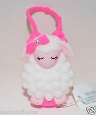 NEW BATH BODY WORKS LAMBIE HOT PINK SHEEP POCKETBAC HOLDER SLEEVE CASE SANITIZER