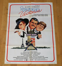 VICTOR VICTORIA poster manifesto Robert Preston James Garner Julie Andrews Paris