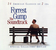 Forrest Gump ORIGINAL MOVIE SOUNDTRACK Collectors Edition MUSIC New Sealed 2 CD