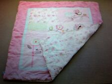 """LIVING TEXTILES """"LITTLE BRIA"""" COT SHEET SET / USED AS GOOD IN CONDITION"""