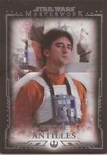 "Star Wars Masterwork - ""Wedge Antilles"" Base Card #25"