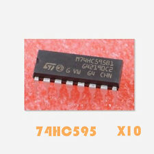 10Stk. Neu Original 74HC595 DIP-16  8-Bit Shift Register Schieberegister