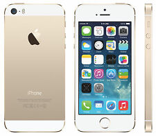 FACTORY UNLOCKED Apple iPhone 5S 16GB Gold White GSM Smart Phone / T-Mobile AT&T