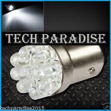 1x Ampoule 9 LED Bulb Blanc White feux stop cligno P21W / BA15S / 1156 / R5W 12V