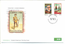 Ireland-World War I-Military Posters Art-First Day Cover-Soldiers
