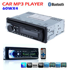 In Dash Bluetooth Car Stereo Audio MP3 Player FM Aux Input Receiver SD USB Radio