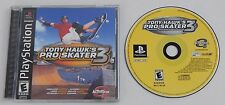 Tony Hawk's Pro Skater 3 Sony PlayStation 1 PS1 Video GAME COMPLETE Tested Works