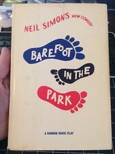 Barefoot In The Park Play By Neil Simon First Print Rare Robert Redford Pictures
