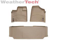 WeatherTech® FloorLiner - Dodge Grand Caravan 2nd Row w/ Bench - 2008-2012- Tan