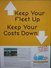 9/1999 PUB IAI ISRAEL AIRCRAFT INDUSTRIES BEDEK  AVIATION MAINTENANCE FLEET AD
