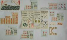 Lot Of Incomplete Aircraft Military Decals