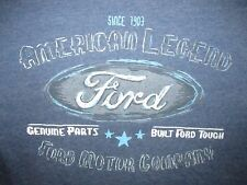 Ford Motor Company Genuine Parts Vintage Style T Shirt Sz S Muscle Classic Car