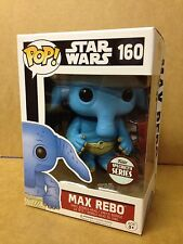 FUNKO POP! Star Wars MAX REBO #160 Specialty Series Vinyl Figure *NEW OTHER*