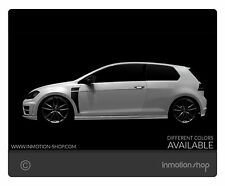 Apanel DECAL F. VW Golf 6 GTI R WRC GTD STRISCE STRIPES PARAFANGO TUNING
