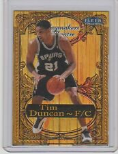 1998-99 Fleer Tradition Playmakers Theater Embossed card : Tim Duncan #062/100
