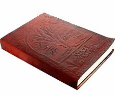 Handmade Tree of Life Journal Leather Note diary gifts for men women (AU)