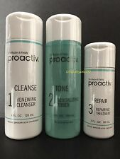 Proactiv 3pc 60 day Kit Proactive 3-Step System with Usage Guide Exp. 08/2018