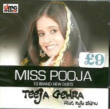 MISS POOJA ,  RAJA SIDHU - TEEJA GEHRA  -  NEW  BHANGRA CD - FREE UK POST