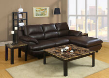 Attractive 3 Piece Square Living Room Table Set Cappuccino New Home Furniture
