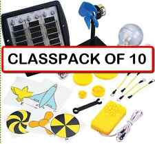 (CLASSPACK OF 10) Elenco SK-40 Solar Deluxe Educational Kit Ages 9+