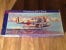 GRUMMAN J2F-2 DUCK  1/48 Scale PLASTIC MODEL KIT By GLENCOE 1988