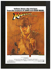 A3 Póster Enmarcado Indiana Jones Raiders of the Lost Ark imagen