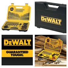 DEWALT 100 PIECE COMBINATION DRILL BIT SET *COMPLETE PACKAGE*