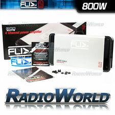 FLI FL800.4 4 Channel Car Speaker/Subwoofer Power Car Amplifier / Sub Amp