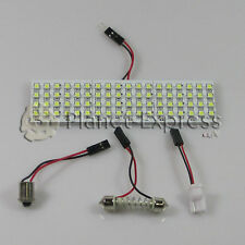Panel 72 LED SMD C5W Festoon T10 W5W BA9S. Maletero, Interior... Blanco Xenon