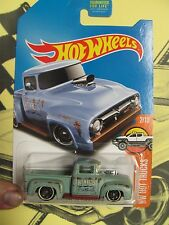 2017 Hot Wheels Kmart Collector Days car '56 Ford Truck custom color GREEN