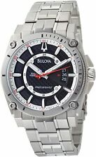 Bulova Men's 96B133 Precisionist Champlain Collection Stainless Steel Watch