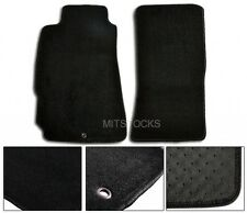 FIT FOR 04-12 MAZDA RX8 BLACK NYLON CARPET FLOOR MATS 2 PEICES NEW