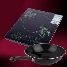 Ultra-thin Single Burner Induction Cooktop Stove Electric Cooker 2000W 220V