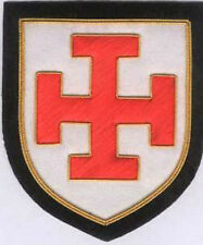 Medieval Prussia German Kingdom HRE Empire Teutonic Cross Crusades Patch Knight