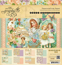"Graphic 45  8"" x 8"" Paper Pad Sweet Sentiments Collection"