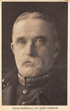 POSTCARD    MILITARY   WWI  Field  Marshall  Sir  John  French