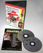 The Blind Swordsman: Zatoichi - Sonatine DVD 2004 2-Disc Set Quentin Tarantino