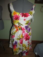 Women's / Juniors XOXO Summer Floral Dress Size 7 Good Condition Condition