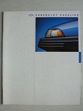 Prospekt 1994 Chevrolet Cavalier, 7.1993, 26 Seiten
