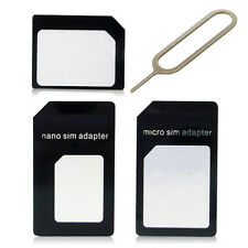 Great Universal SIM Card to Micro Standard SIM Adapter +Slim Tray Eject PinT gt