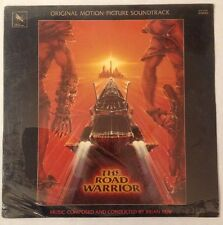SEALED The Road Warrior Mad Max Cult Movie Soundtrack LP Brian May Varese