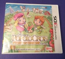 Return to PoPoLoCrois A Story of Seasons Fairytale for 3DS NEW
