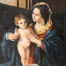 Madonna con il Bambino cm. 50 x 60