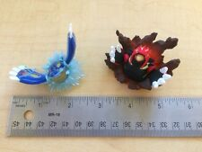 Pokemon GROUDON & KYOGRE - 2 Figure Lot
