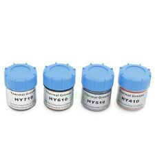 4pcs 20g Gold Silver Grey White Silicone Compound Thermal Grease Paste For CPU
