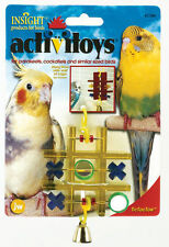 JW Pet Company Activitoy Tic Tac Toe Small Bird Toy Asst Colors  FREE SHIPPING
