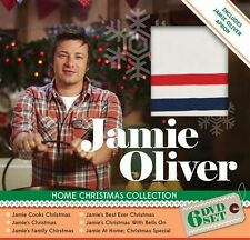 JAMIE OLIVER - HOME CHRISTMAS COLLECTION (6 DVD SET-2014) BRAND NEW!!! SEALED!!!