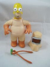 Playmates The Simpsons World of Springfield  WoS Action Figure Homer as Welder