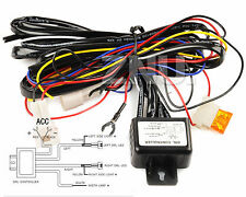 LED Day Running Light DRL Relay Harness Automatic On / Off Control Switch New