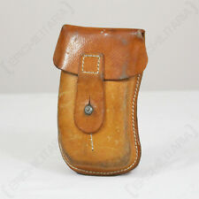 ORIGINAL CZECH SA61 Ammo Pouch - Leather Surplus - WW2 - Mag Divider